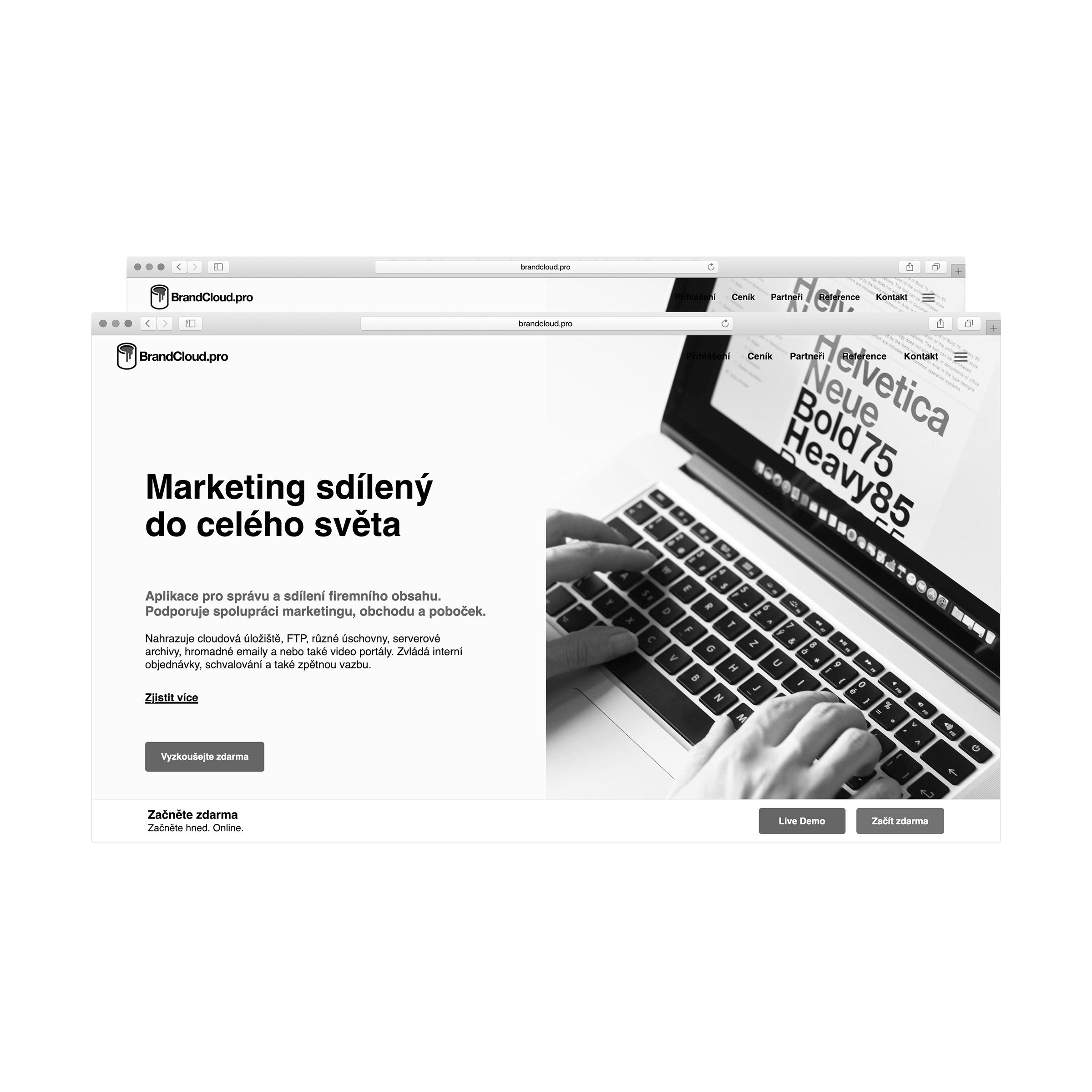 Brandcloud – website