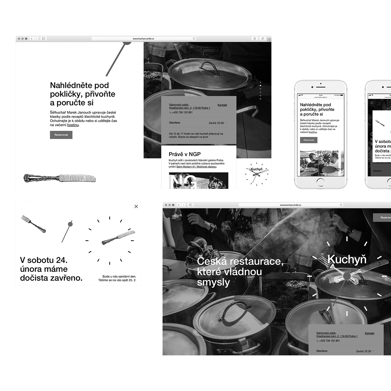 Kuchyn – website overhaul