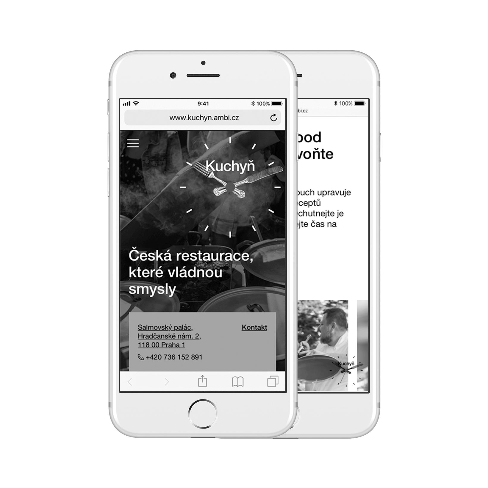 Kuchyn – website overhaul