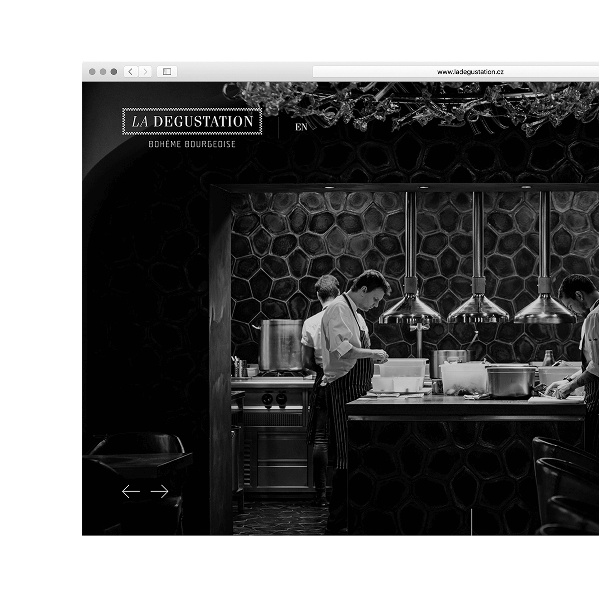 La Degustation Bohême Bourgeoise – website