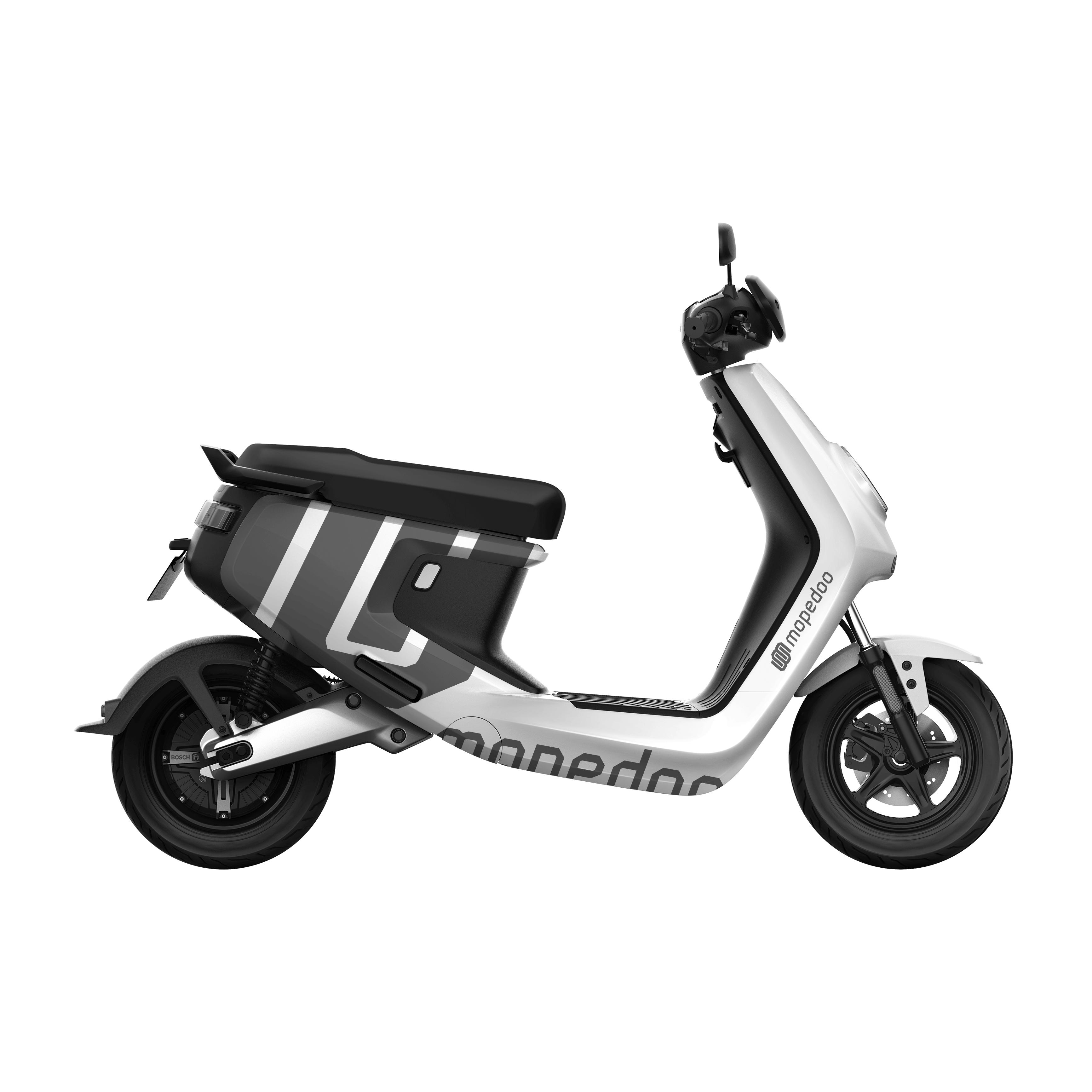 Mopedoo – visual identity