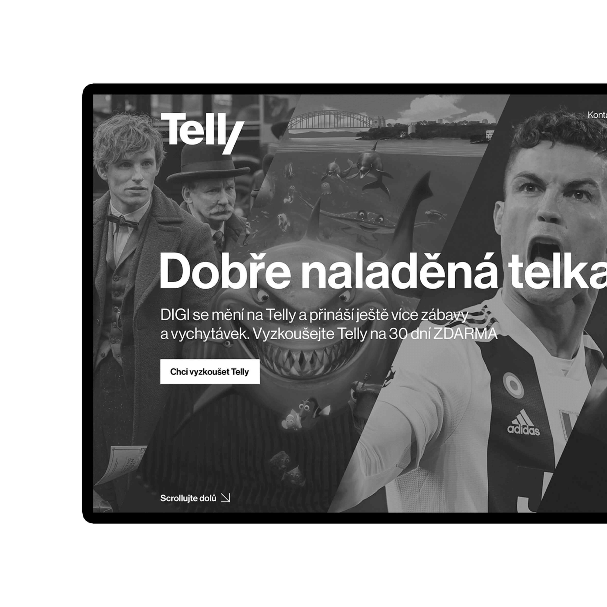 Telly – digital design